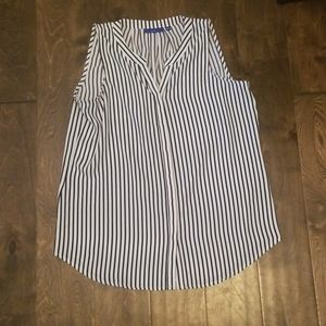 Size Small Apt 9 white and black striped top